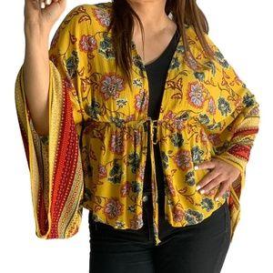 Liberty love  print blouse  Size XL